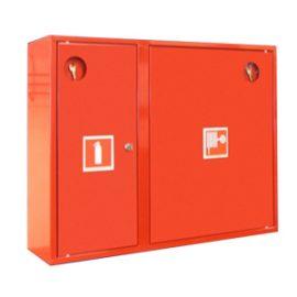 Шкафы пожарные, подставки для огнетушителей, щиты и стенды пожарные