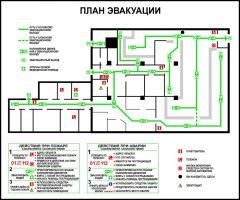 Разработка планов эвакуации в Красноярске. Планы эвакуации.